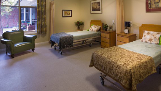 Bupa Aged Care Berwick companion room