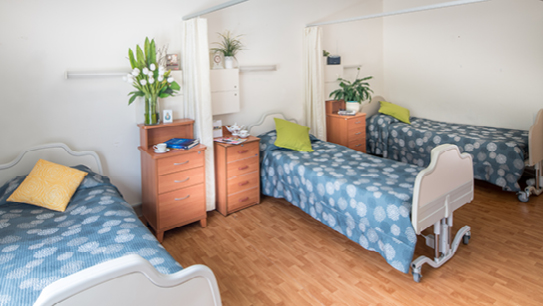 Bupa Aged Care Bexley shared room