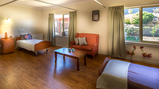 Bupa Aged Care Kyneton companion room