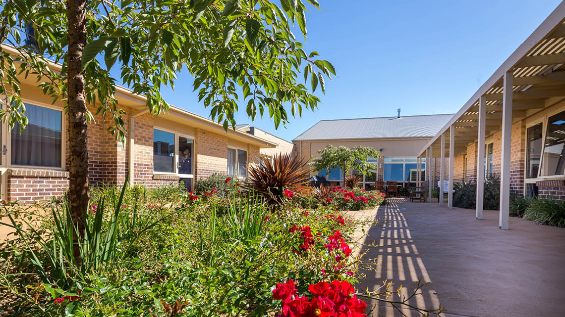Bupa Aged Care Kyneton outdoor