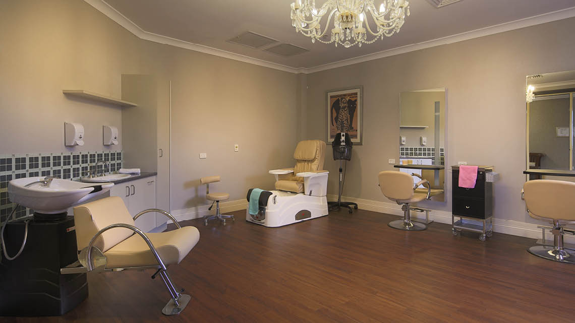 Bupa Aged Care Mosman hairdresser
