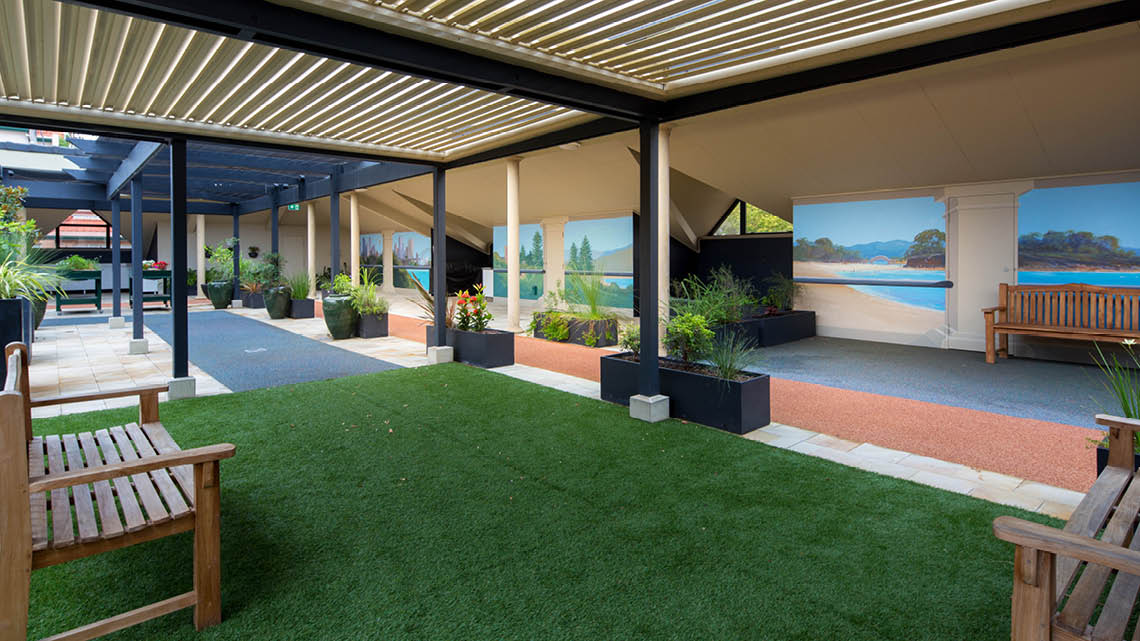 Bupa Aged Care Mosman outdoor
