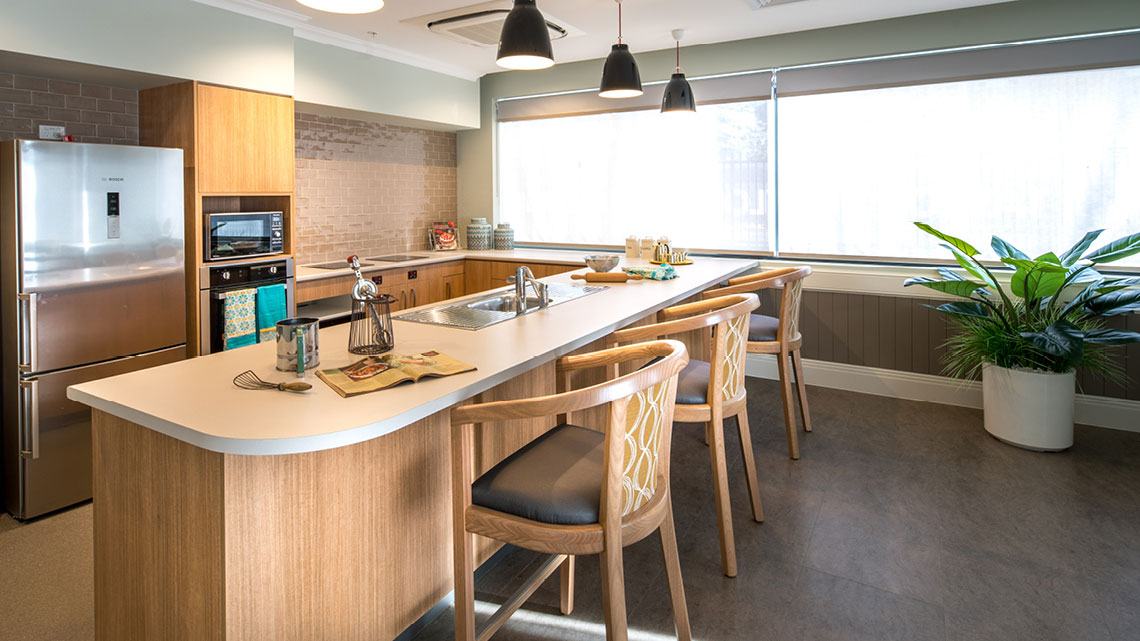 Bupa Aged Care St Ives Dementia Kitchen