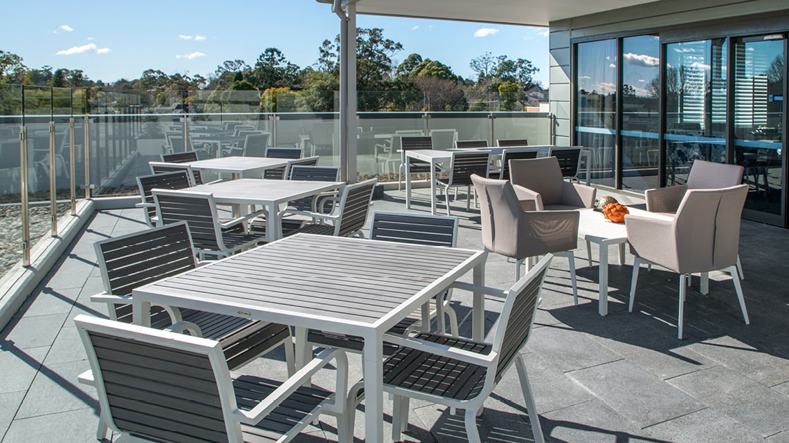 Bupa Aged Care St Ives Rooftop Terrace