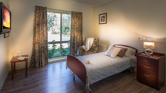Bupa Aged Care Woodend classic room