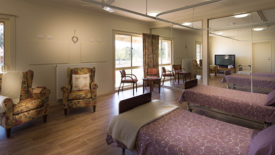 Bupa Aged Care Woodend companion room