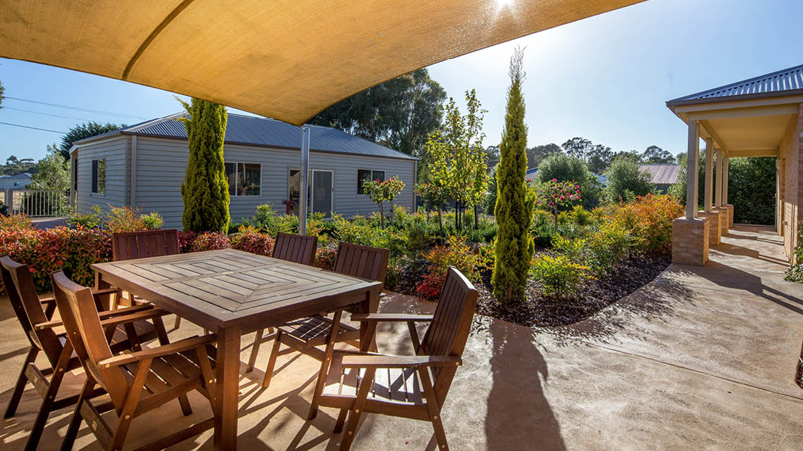 Bupa Aged Care Woodend outdoor