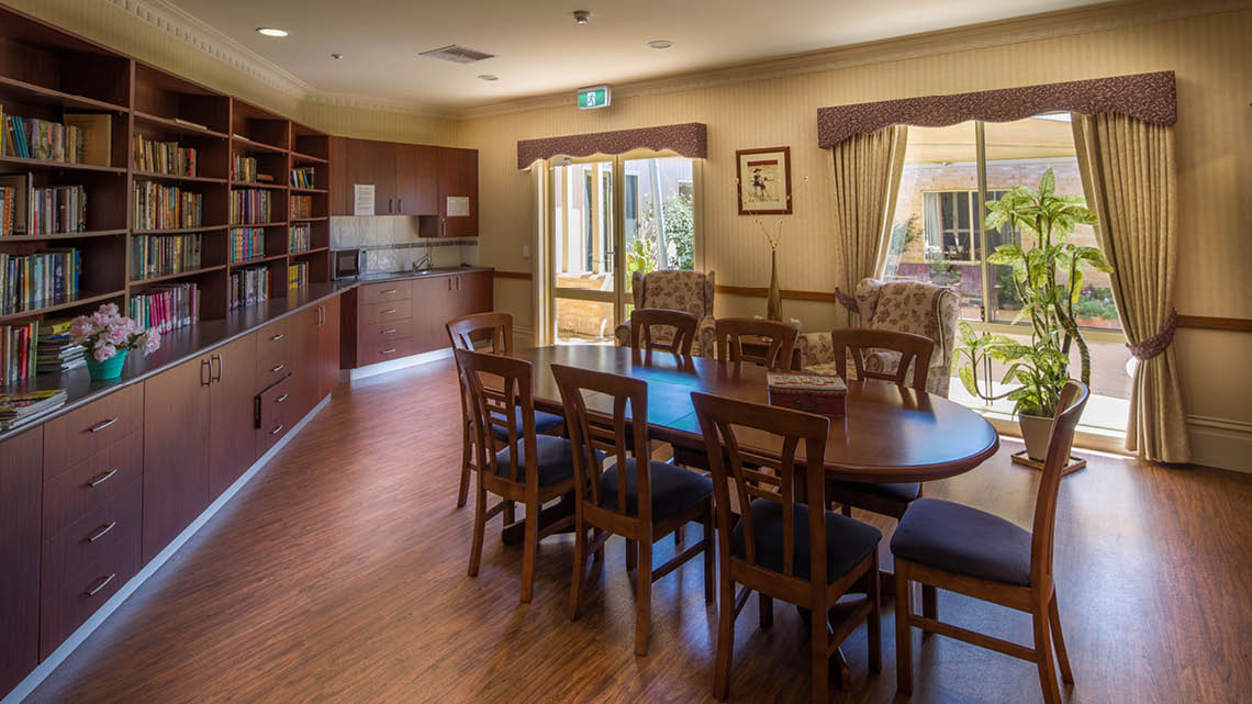 Bupa Aged Care Woodend private dining